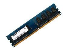 Elpida EBE21UE8AFFA-8G-F PC2-6400U-666 2GB 2Rx8 DDR2 RAM Memory 800MHz CL6