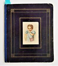 1879 antique HANDWRITTEN JOURNAL harrisburg pa Valina BOWERS penmanship personal