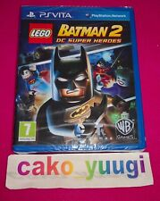 LEGO BATMAN 2 DC SUPER HEROES SONY PS VITA  NEUF VERSION 100% FRANCAISE