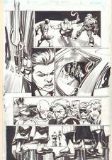 Convergence Suicide Squad #2 p.4 - Amanda Waller, Bane 2015 by Tom Mandrake Comic Art