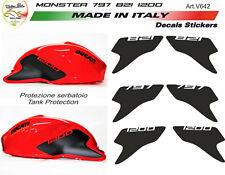 "Kit adesivi per serbatoio Moto Ducati Monster 797/821/1200 ""V642"""