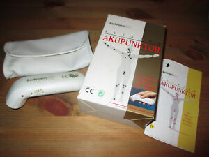 Elektro Akupunktur Gerät Beckmann AP77 mit OVP und Anleitung