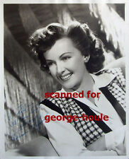 FRANCES GIFFORD  - PHOTOGRAPH- AUTOGRAPH  - JUNGLE GIRL - TARZAN - WEISSMULLER