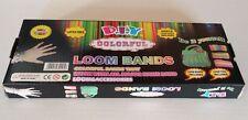 600 Rainbow Colourful Loom Rubber Bands Bracelet DIY & Free 2 packs loom bands