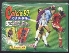 1997 Panini Italian League Soccer Card Box. 35 Sealed 6-Card Packs. Hard to Find