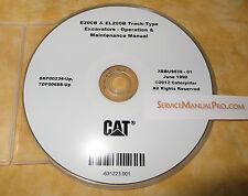 XEBU9639 CAT Caterpillar E200B EL200B Excavator Operation Maintenance Manual CD