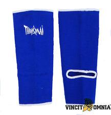 Paire de chevillères pour boxe THAISMAI bleues