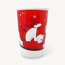 Starbucks Japan Mug cup 2011 Christmas Holiday Limited HOLIDAY RED CUP MUG