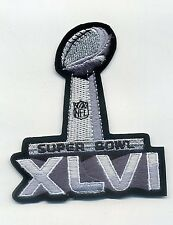 CHAMPIONSHIP GAME SUPER BOWL XLVI SUPERBOWL 46 GIANTS JERSEY LOGO IRON-ON PATCH