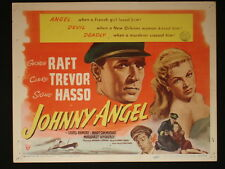 JOHNNY ANGEL 1945 George Raft and Claire Trevor Lobby Card Set