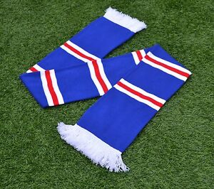 Football Scarf Selection Bar Stripe Warm Winter High Quality Various Colours