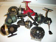 Antique Fishing Reels Vintage Lot Of 7 Abu Garcia Mitchell Pflueger South Bend