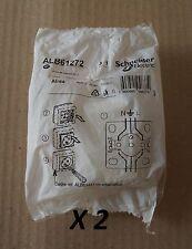 Lot 2 prises de courant 2P + T Alréa - connexion à vis - SCHNEIDER ALB61272