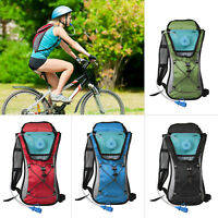 Sporting Backpack 2L Water Bladder Bag Hydration Packs Hiking Camping Cycling