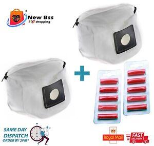 2 x Reusable Zip  for Henry Hetty James  Vacuum Cleaner + Air Fresheners