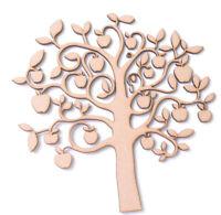 Wooden MDF Apple Tree shape Family Frame Apple Tree Teacher gift