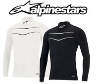 Alpinestars Race Top FIA Approved Race Underwear - Black or White CLEARANCE SALE