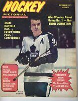 1971 Hockey Pictorial magazine Norm Ullman Toronto Maple Leafs Jean Ratelle GNL