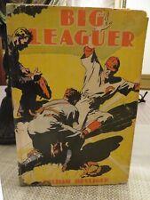 THE BIG LEAGUER Hardcover Baseball Book (1936)