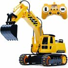 Remote Control Excavator RC Construction Vehicle Truck 8 Channel Sand Digger Toy