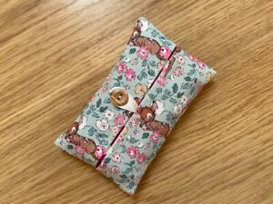 POCKET TISSUE HOLDER (E)  MADE USING CATH KIDSTON FABRIC BY DAWN