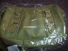 light green purse nice leatherlike material great for st. pattys day SPRING