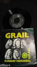 GRAIL Grail / Sunday Morning  *UK PROGRESSIVE BAND PRODUCED BY ROD STEWART 1970*