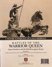 Caesar: Conquest of Gaul Module Battes of the Warrior Queen, New by GMT, Eng