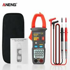Aneng St183 Digital Clamp Meter True Rms Dcac Current 4000counts Multimeter Ncv