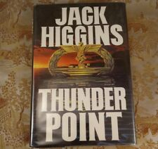 Thunder Point by Jack Higgins (1993, Hardcover) First Edition