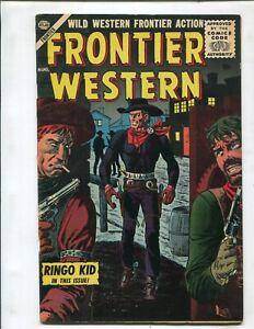 FRONTIER WESTERN #4 (8.0) RINGO KID!! 1956