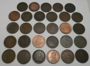Lot of 29 Hard Times Tokens