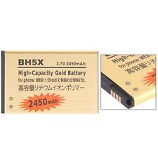 BATTERIA DA 2450Mah PER MOTOROLA Droid X2 MB810 Milestone MAGGIORATA BH-5X BH5X
