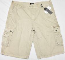 Buffalo David Bitton Shorts Men's Size 33 HEVAN Cargo Shorts Begie Khaki N957