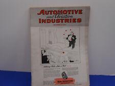 Vintage Automotive & Aviation Indusries Dec 1st, 1945 Magazine, Ads