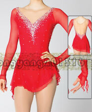 Custom Fashion figure Skating Dresses skating costumes For Adults or Girls