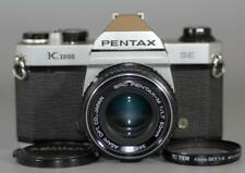 Pentax K1000 SE (has Split-image screen) with 50mm f1.7 SMC lens - Nice Mint-!