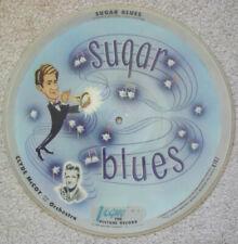"""CLYDE McCOY Sugar Blues/Basin Street Blues 10"""" OG 1947 VOGUE PICTURE DISC R707"""