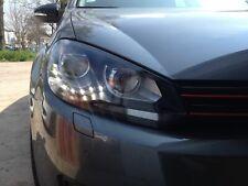 Phares VW Golf 6 VI 08-12 noir feux diurnes variation Xénon-Design