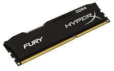 8GB Kingston HyperX Fury Black DDR4 2133MHz CL14 Memory Module