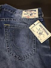 TRUE RELIGION BRAND JEANS MENS SLIM BIG T JEANS SZ 40