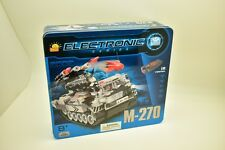 COBI- ELECTRONIC SERIES, M-270ROCKET LAUNCHER  (I/R) 21903, TANK MOTORIZED