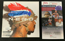 PHARRELL WILLIAMS HAND SIGNED AUTOGRAPHED NERD CD BOOKLET JSA/COA
