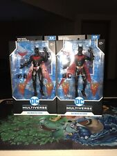 2 Batman Beyond face mouth variant - McFarlane toys DC multiverse