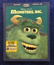 Monsters, Inc. (Blu-ray/Digital HD, 2017) NEW w/ Slipcover; Disney-Pixar
