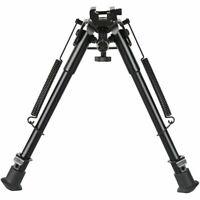 9-13 Inches Hunting Bipod Adjustable Spring Return Sling Swivel +20mm Rail Mount