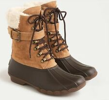 $180 Sperry Shearwater duck Boots Caramel brown size 7 from J.crew Brand new