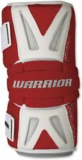 Warrior Burn Lacrosse Arm Pads Medium Red/White BAP13-M Protective Gear
