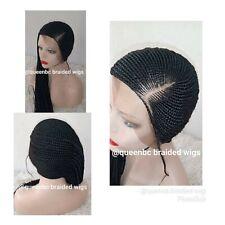Braided Wig :Beyonce lemonade braids wig. cornrows wig. Lemonade braids wig