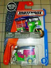 2018 Matchbox Tuk-Tuk Taxi Green
